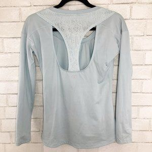 Calia by Carrie Underwood Light Blue Athletic Top